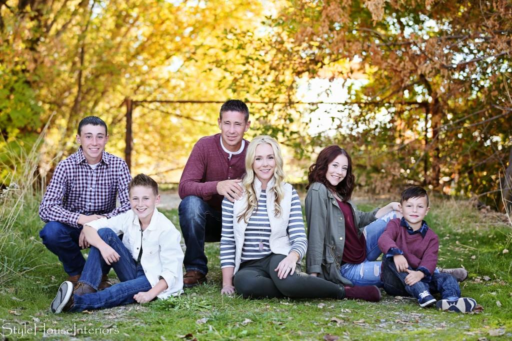 StyleHouse Interiors family photo