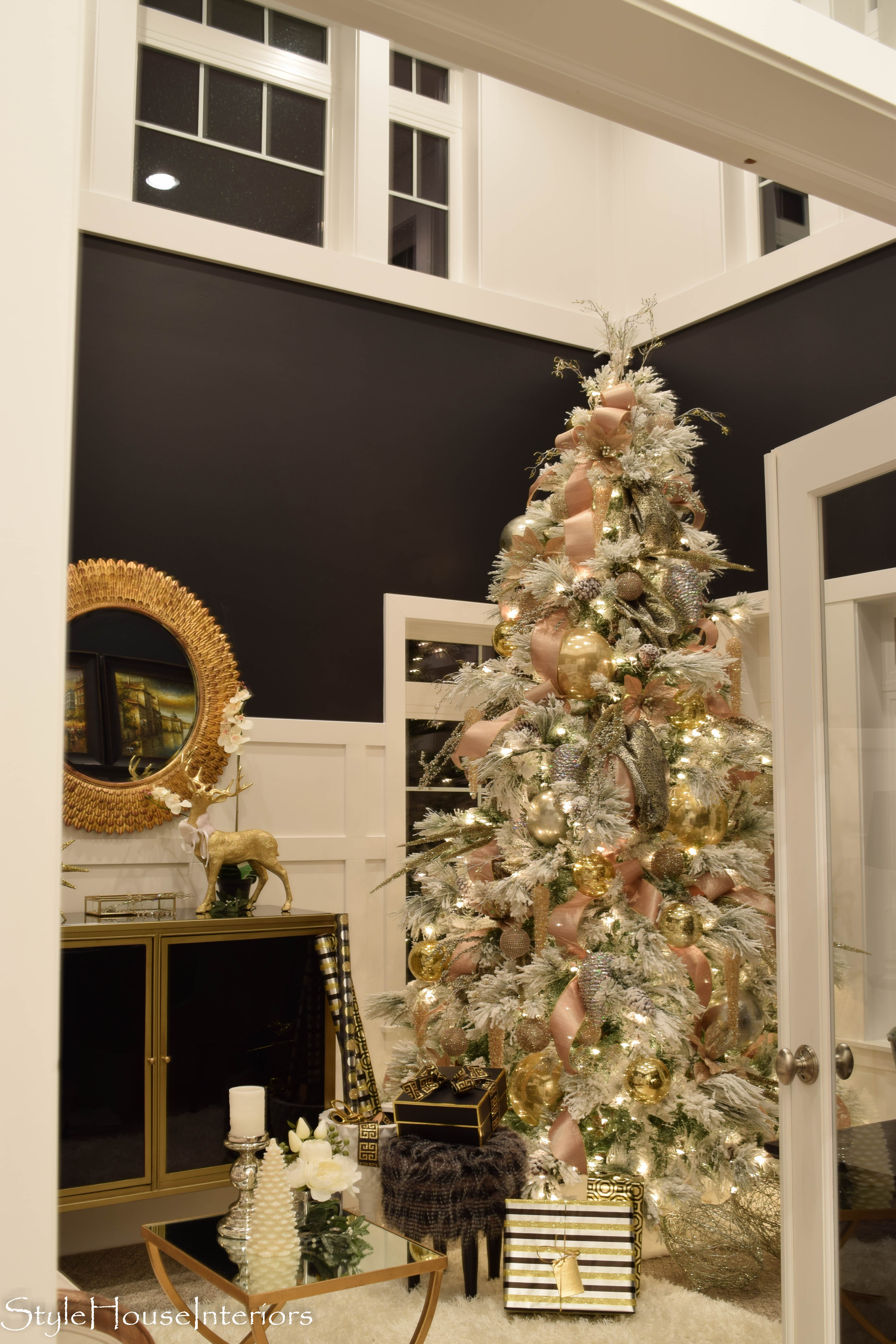 stylehouse interiors home office christmas