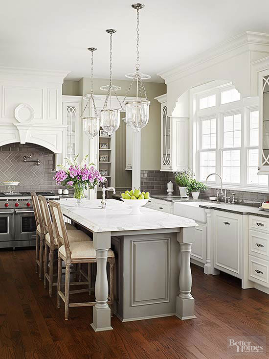 Island Kitchen Lighting Better Homes And Gardens