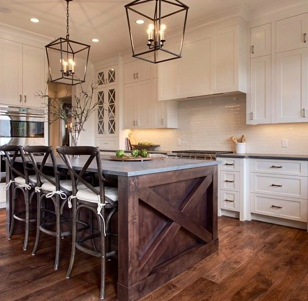 How To Figure Spacing For Island Pendants Style House Interiors - Lanterns over kitchen island