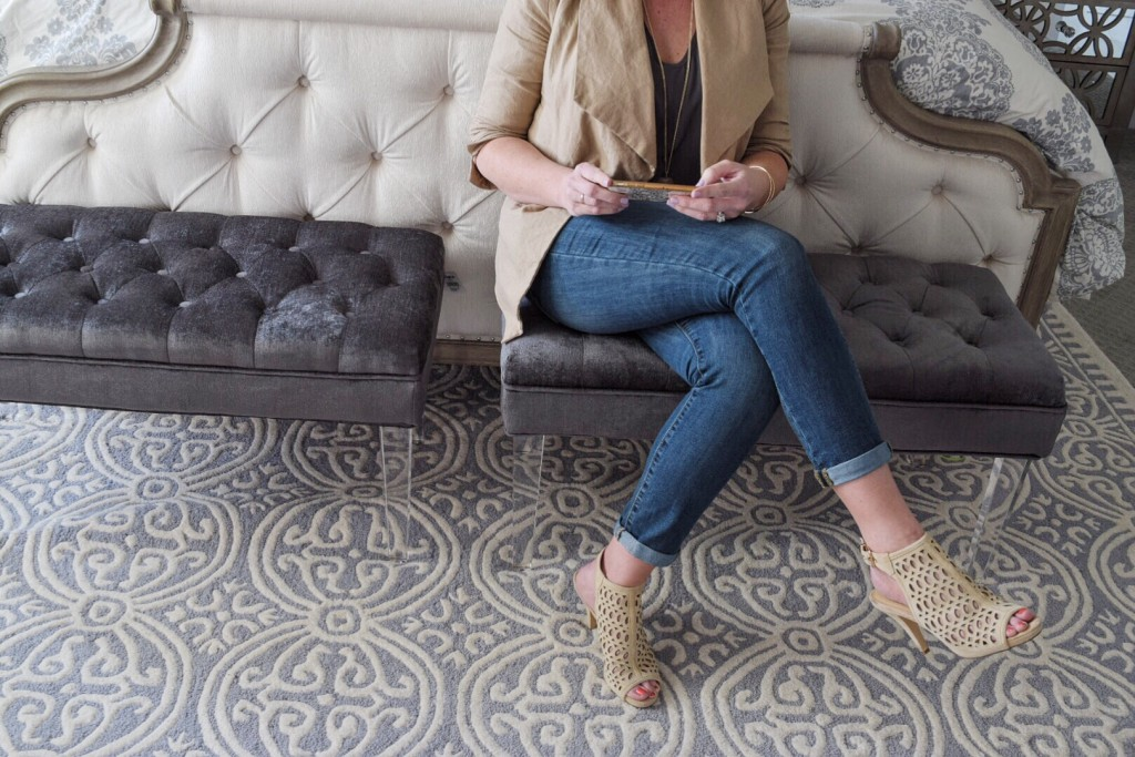 Spring layering and perforated heels