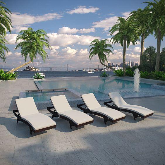 Lexmod pool chairs