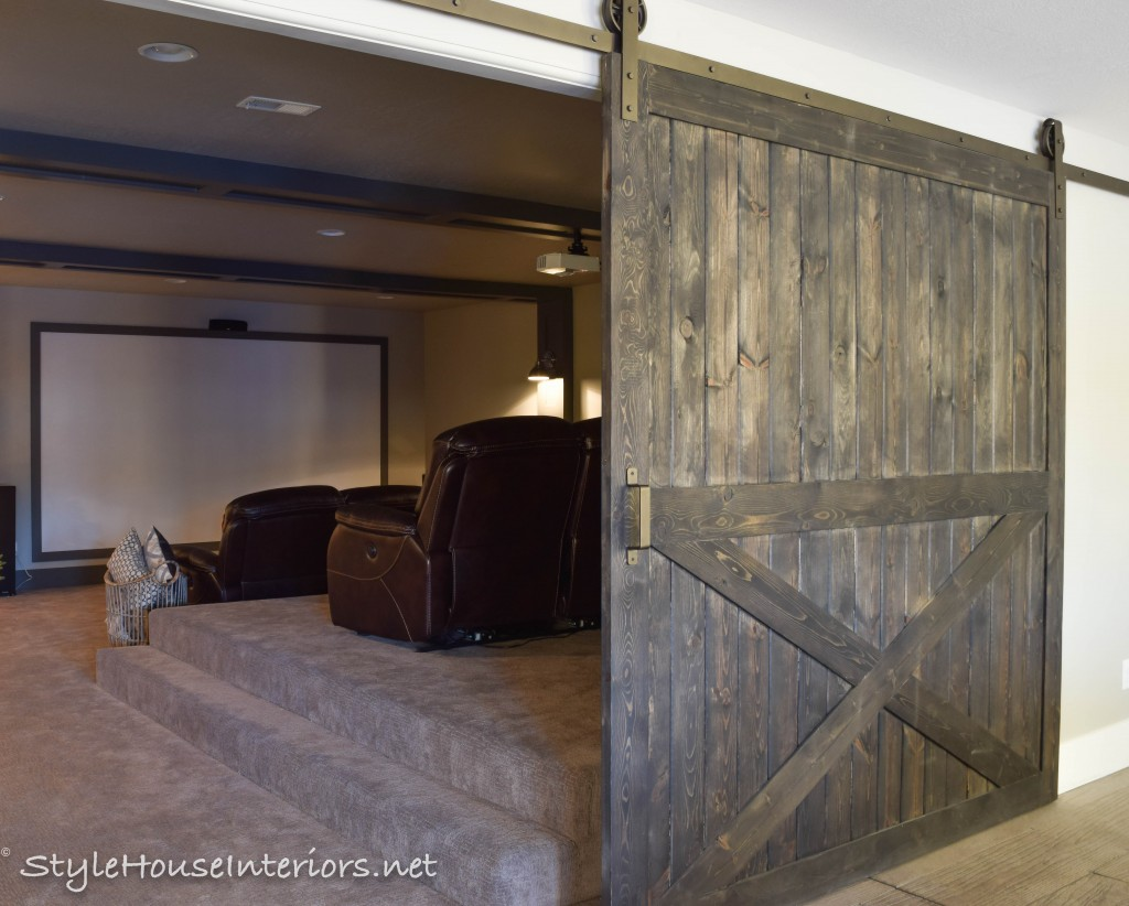 Adding Privacy With Barn Doors Style House Interiors