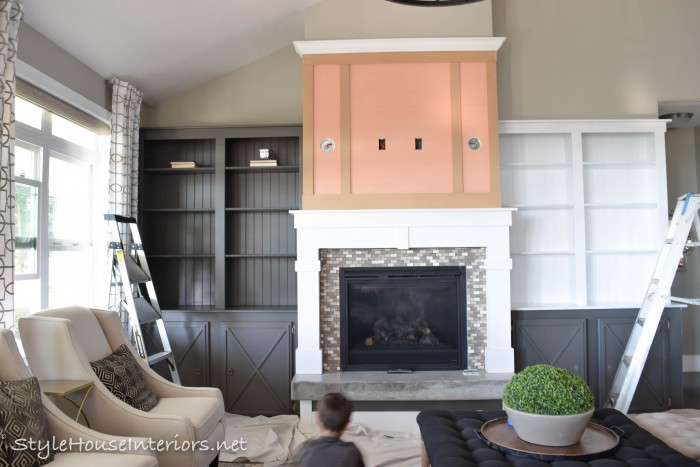 Week 4 One Room Challenge-StyleHouse Interiors|Family room