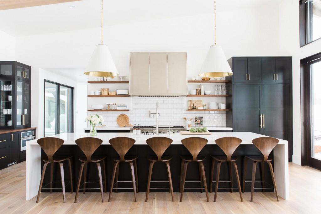 Modern Mountain kitchen-20 barstools under $250