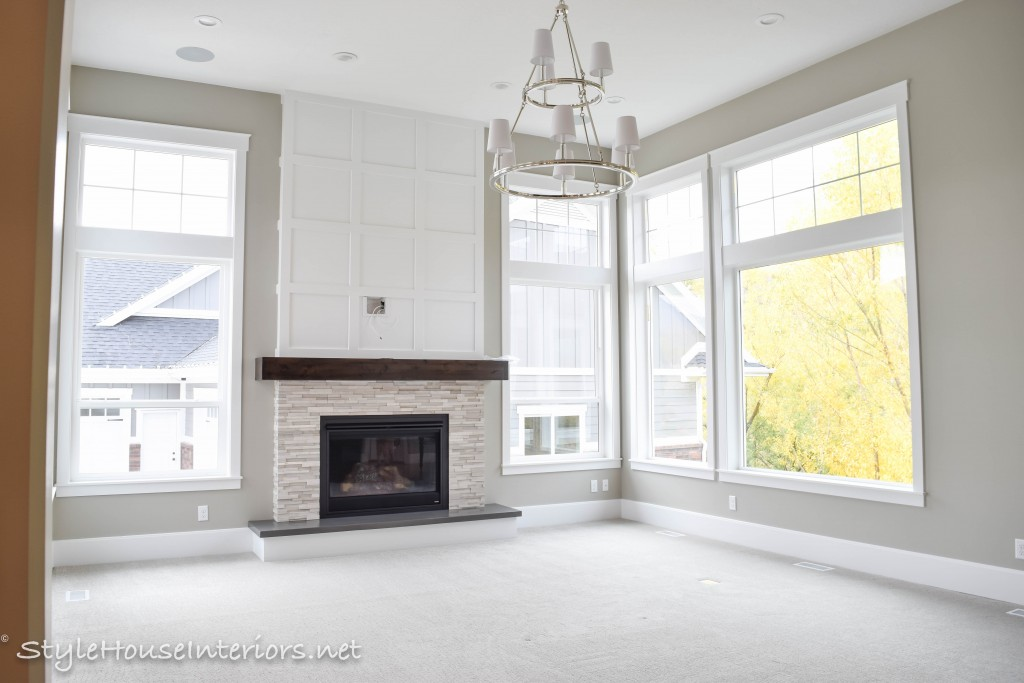 Fireplace Ideas Transitional family room