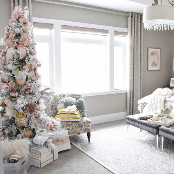 Master Bedroom Christmas Tour Style House Interiors