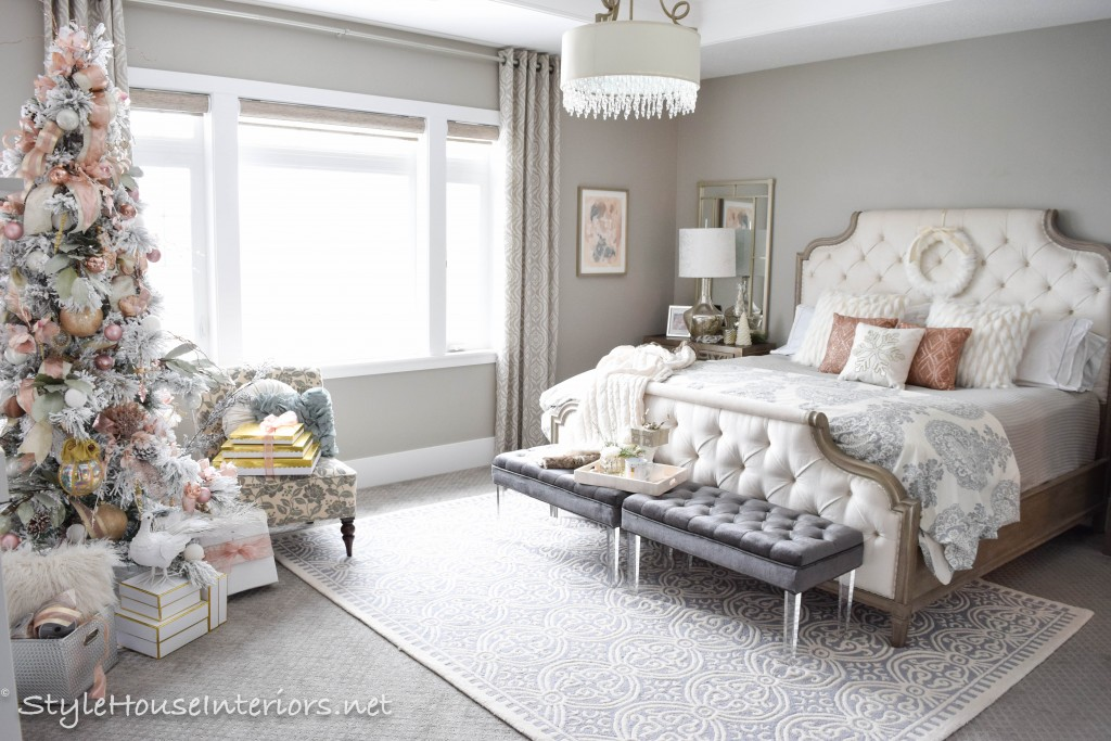 Master bedroom Christmas tour-Stylehouse Interiors