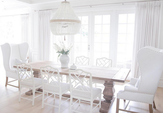 Choosing the right size and shape light fixture for your dining room ...