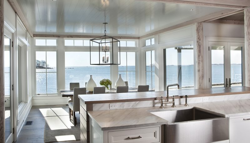 The Lantern Is Open Allowing Views Of The Water While Also Making A Grand  Statement.