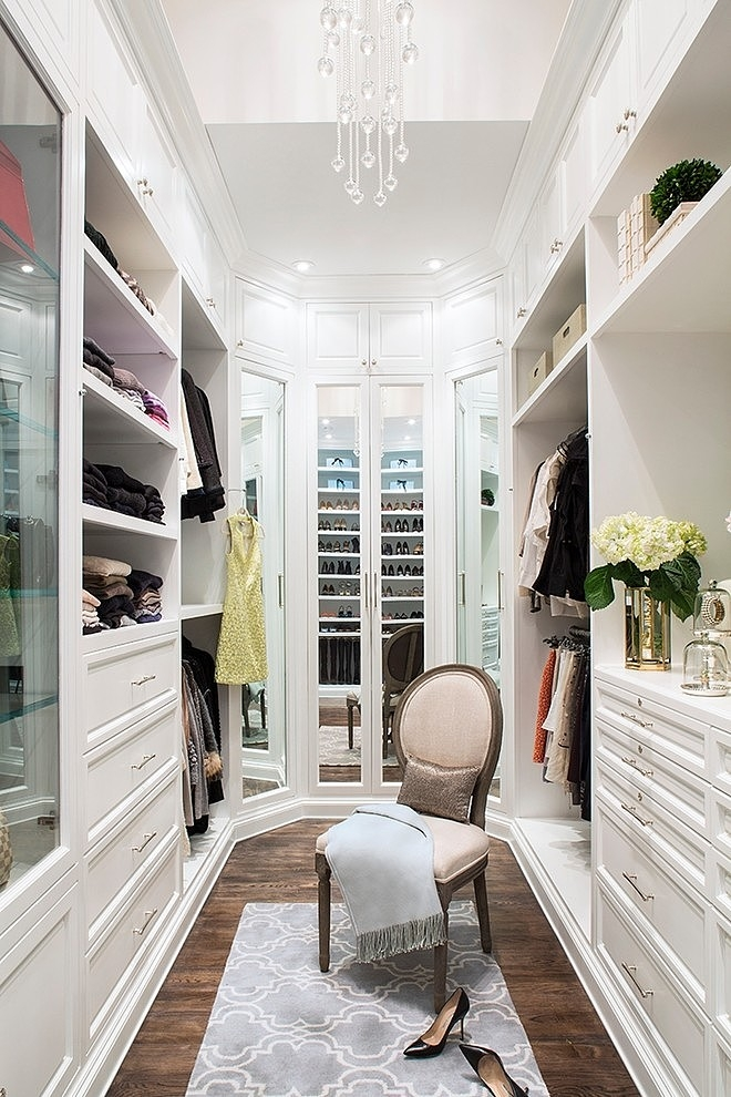 I\u0027m definitely taking notes on things I love about this closet and what I can do to incorporate them into my next closet! Starting with the tall bottom ... & What a perfect closet looks like | 15 Beautiful walk in closet ideas ...