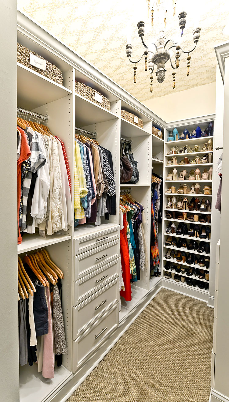 What A Perfect Closet Looks Like | 15 Beautiful Walk In Closet Ideas    Style House Interiors