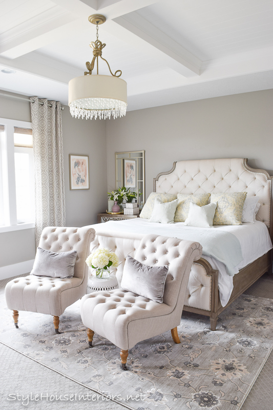 spring tour + ideas on how to style your bedside table - style house Different Bedside Tables