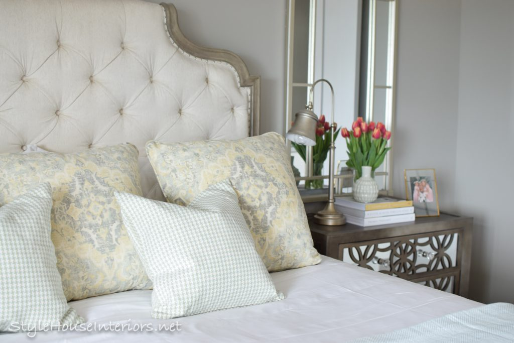 Picture of: Spring Tour Ideas On How To Style Your Bedside Table Style House Interiors