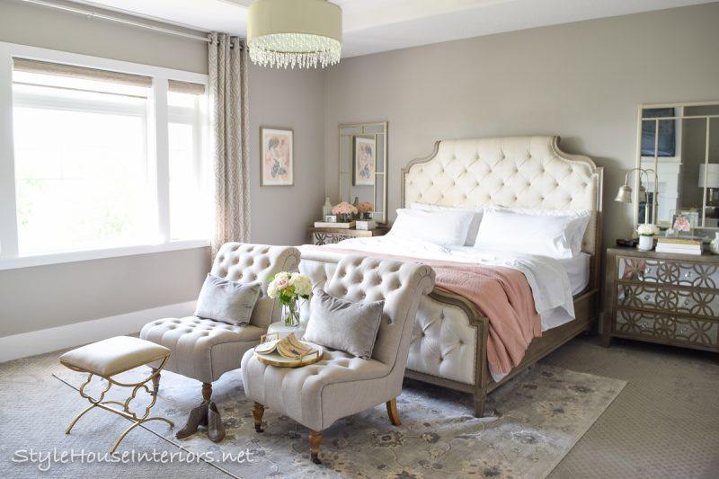 Creating a Master Bedroom that feels like a luxurious retreat