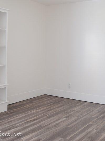 One Room Challenge week 3 – Hardwood look with Luxury Vinyl Plank Flooring