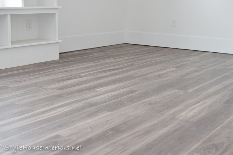 One Room Challenge Week Hardwood Look With Luxury Vinyl Plank - Does vinyl flooring look cheap