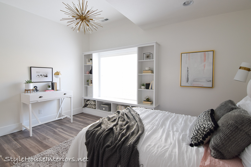 Boho Glam White bedroom makeover - One room challenge reveal - Style ...