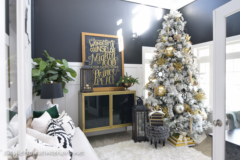 Transitional Christmas Home Tour 2017 Style House Interiors