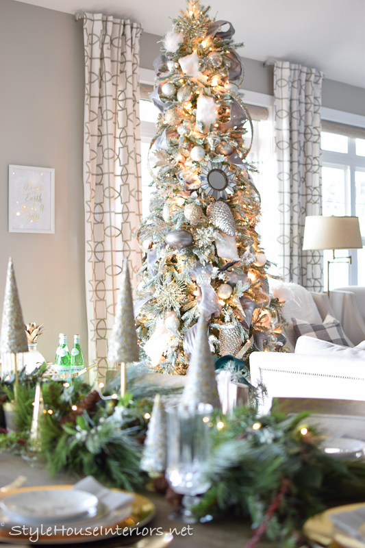 Simple, Elegant time saving Christmas decor – Decked + Styled Christmas tour