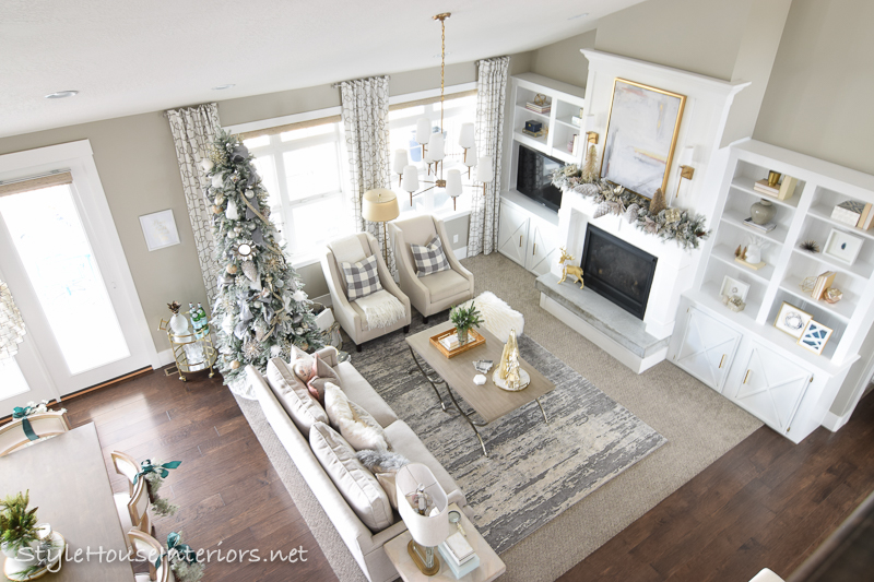Transitional Christmas Home tour 2017