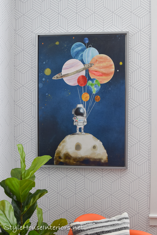 Astronaut inspired room