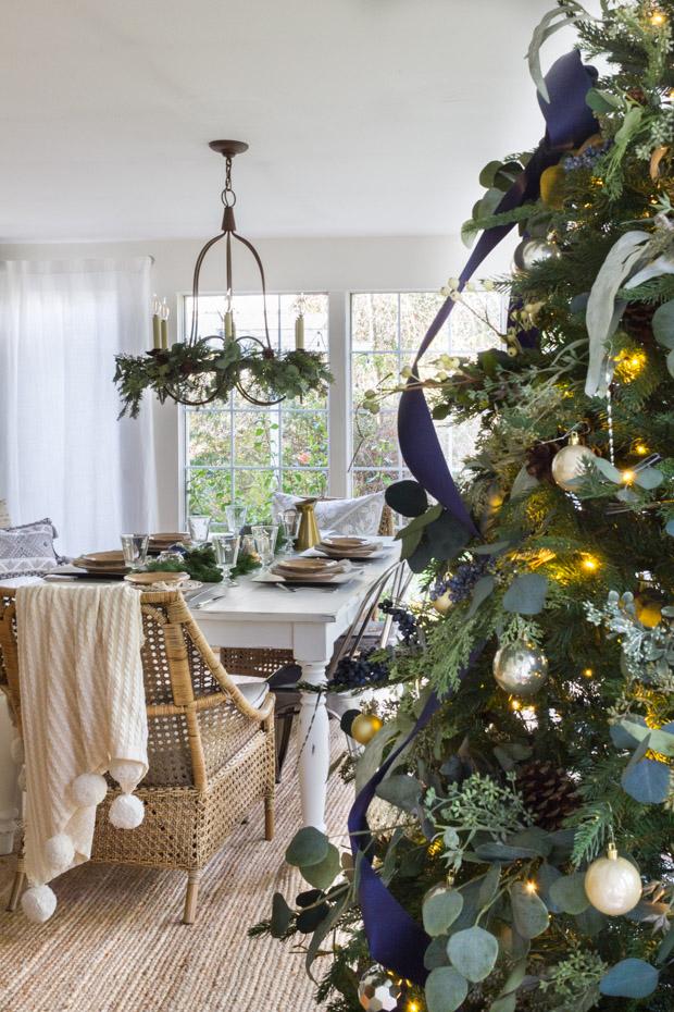 Christmas Inspiration 2019 Blue and Green Tartan Plaid